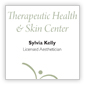 Therapeutic Health and Skin Center - Business Card